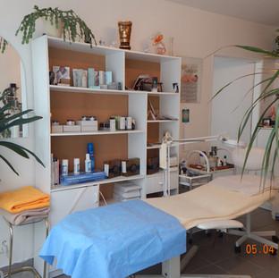 místnost pro kosmetiku