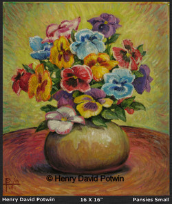 2008 Pansies Small
