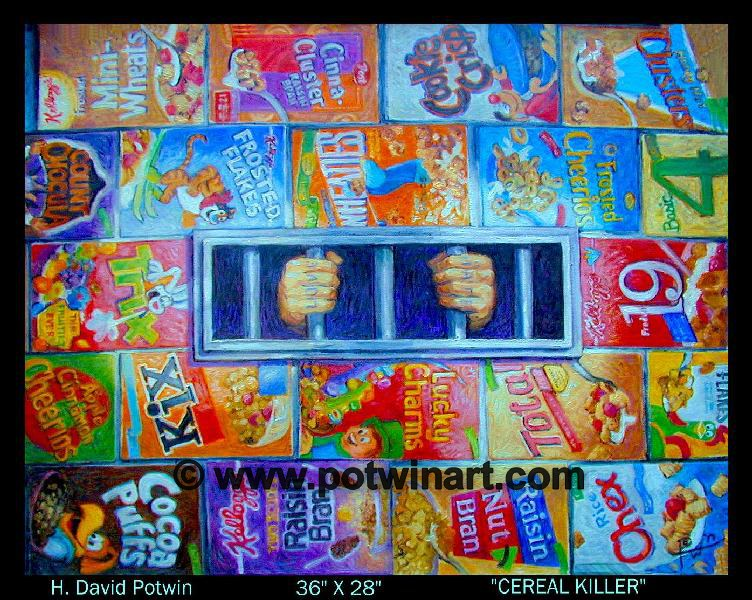 "Cereal Killer  - 1990's 36X28"""