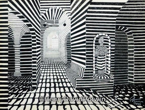 """The Prisoner - 1990's 12X16"""""""