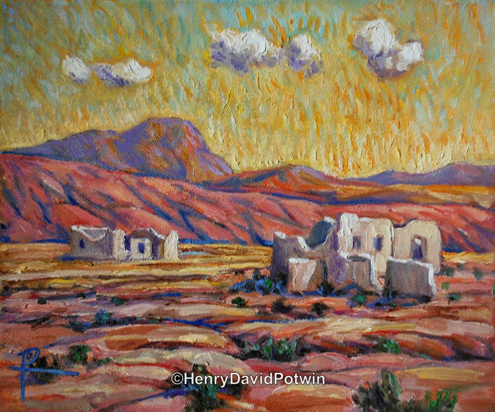 """Desert Reclamation - 2012 10X12"""""""