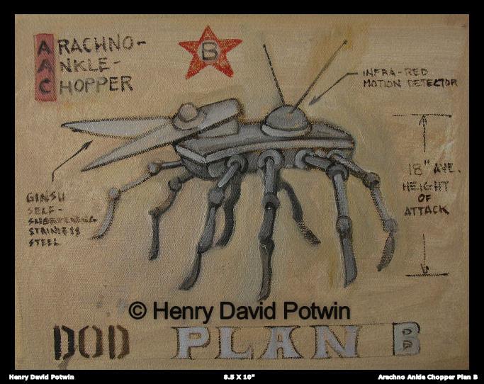 """Arachno-Ankle Chopper - 2007 9X10"""""""
