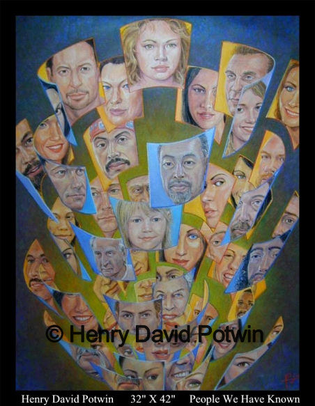 People We Have Known  - 2004 32X42""