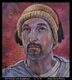 Self w headphones