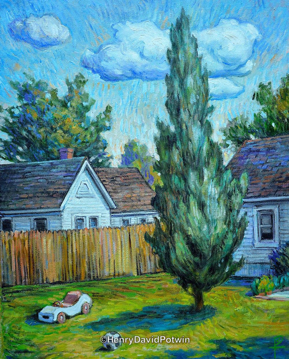 Backyard  - 2014