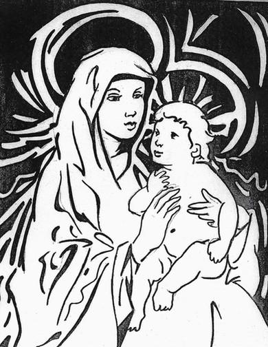 Xmas_C Mother Child