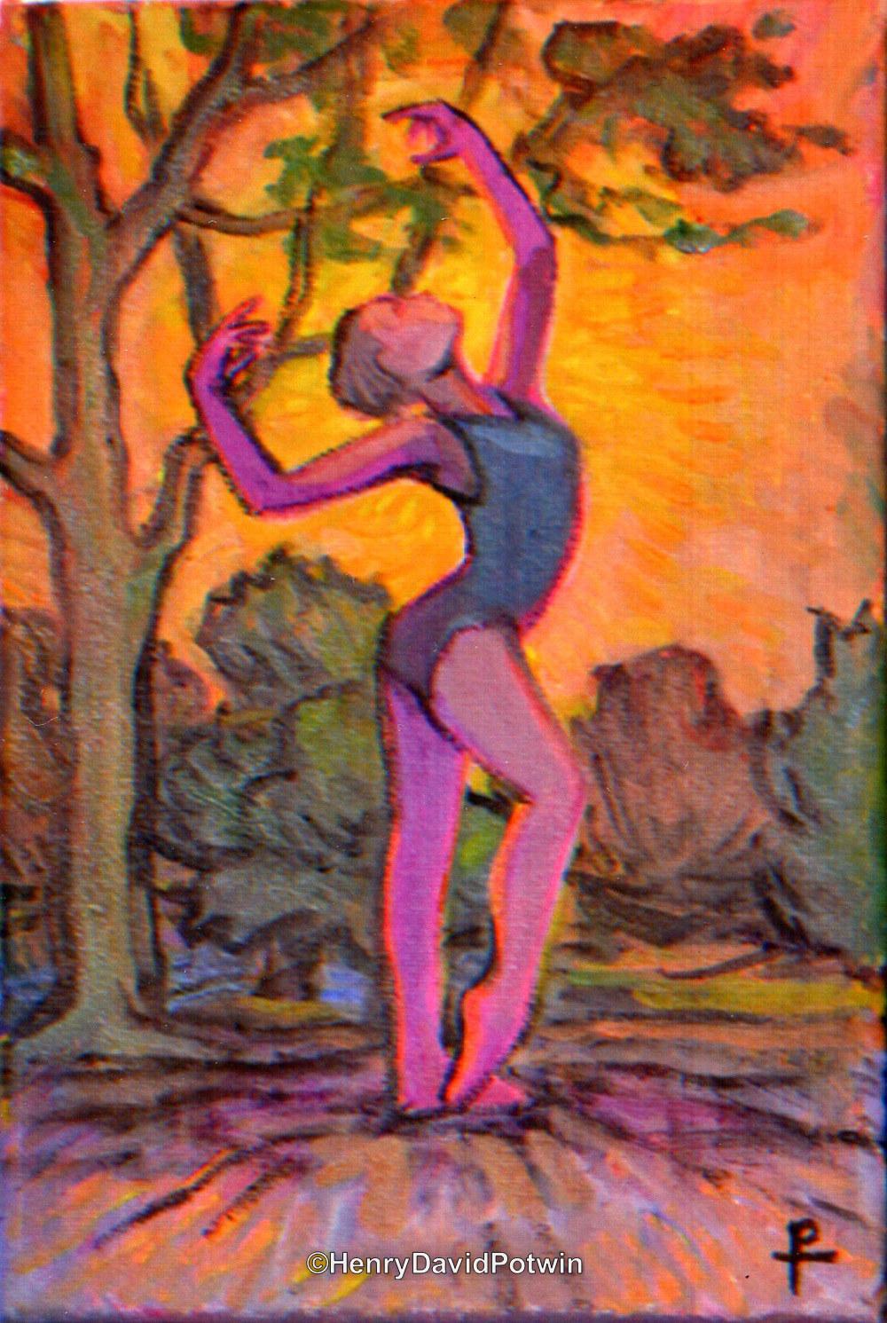 "Nature Dance - 2017 11X8"""
