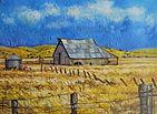 An Old Barn Hayden Hill
