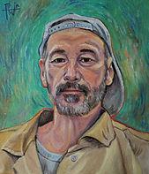 Henry David Potwin Self Portrait with Grey Hat