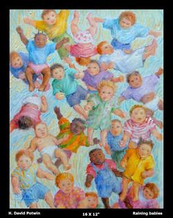 1996 Raining Babies