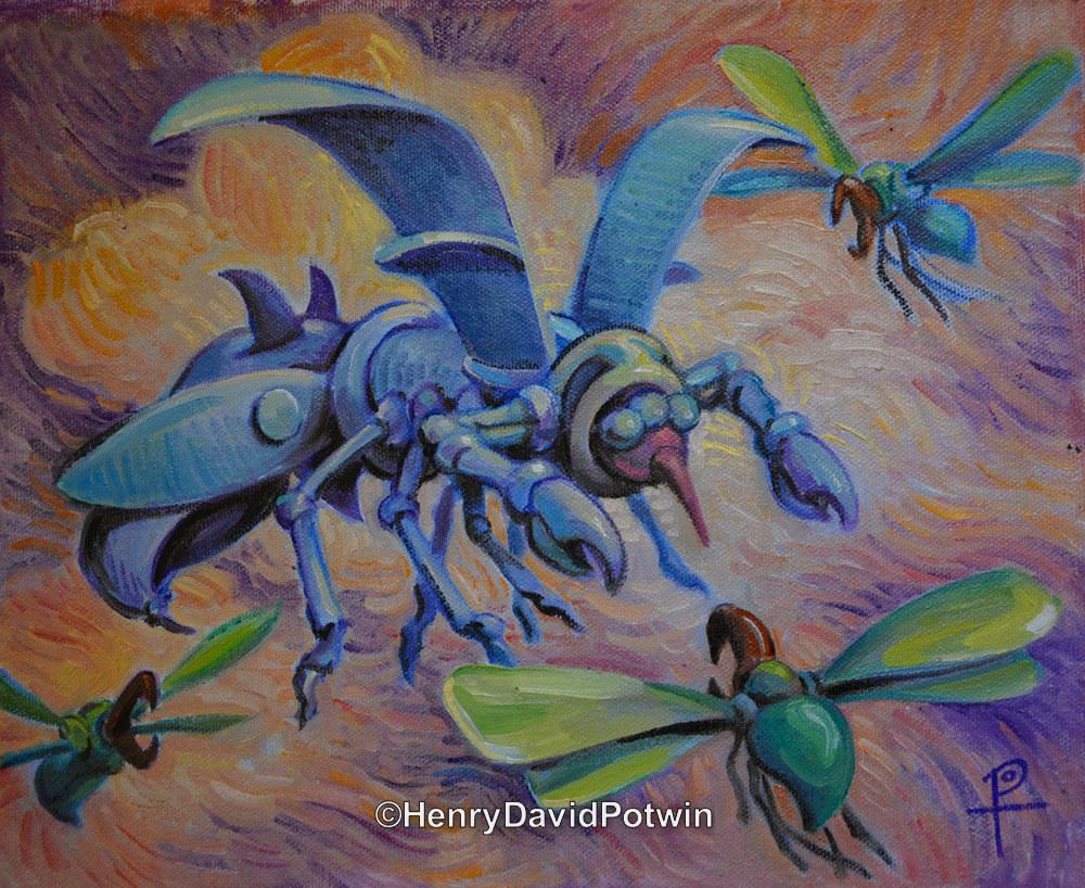 """Drone Wars - 2013 11X9"""""""