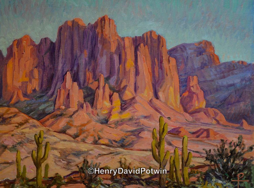 "Arizona Landscape - 2015 13X16"""