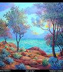Henry David Potwin Rocky Coast California