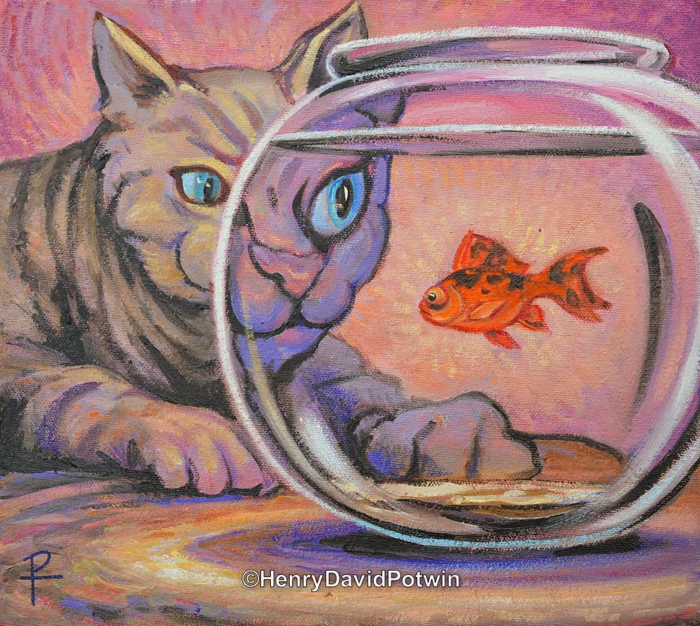 """Cat Fish - 2014 10X11"""""""