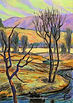 Autumn Landscape Study
