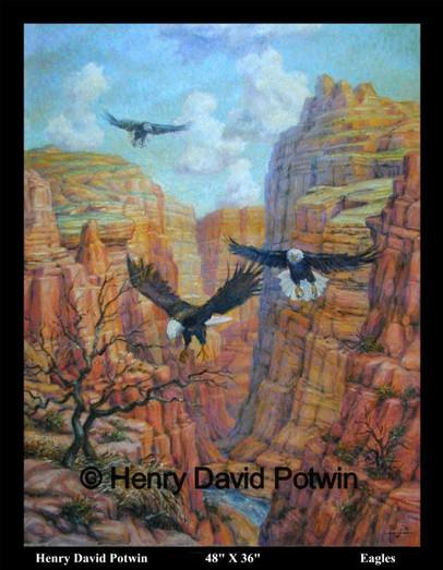 "Eagles  - 2003 48X36"""