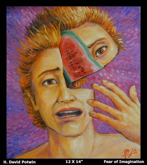 Fear of Imagination 12X14