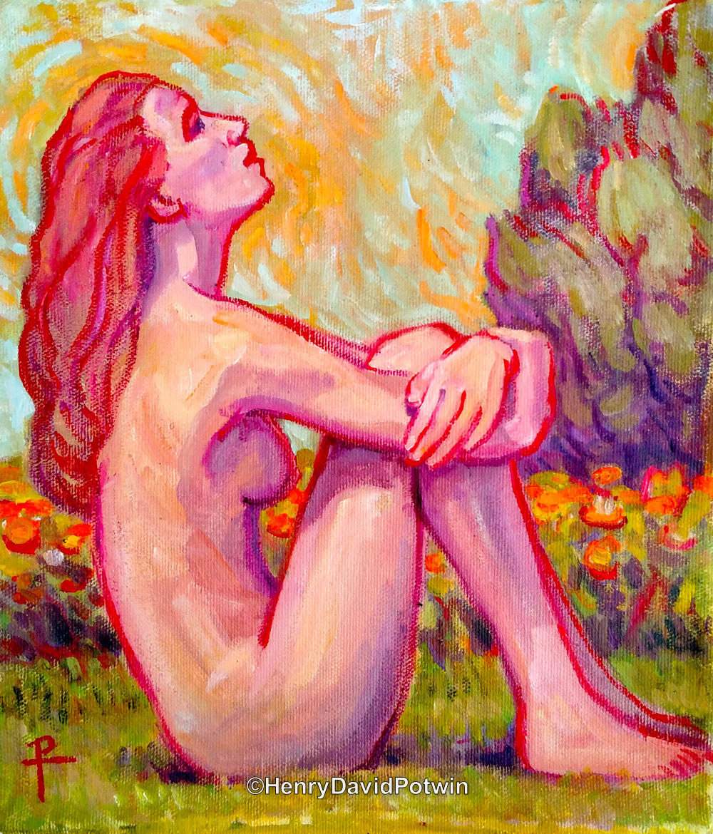 Girl in the Sunshine - 2017 10X9""