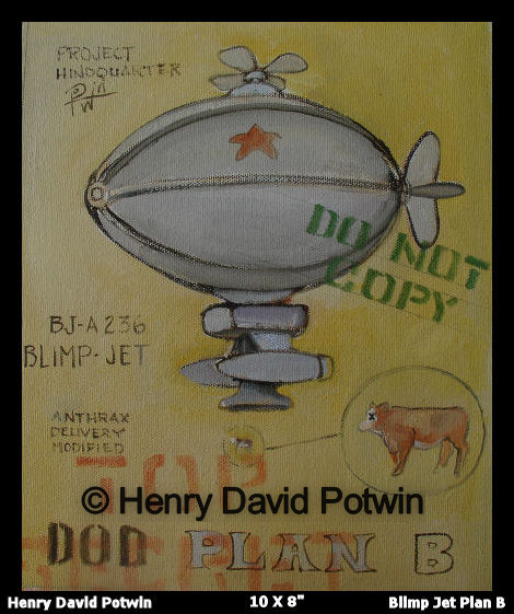 "Blimpjet - 2007 10X8"""