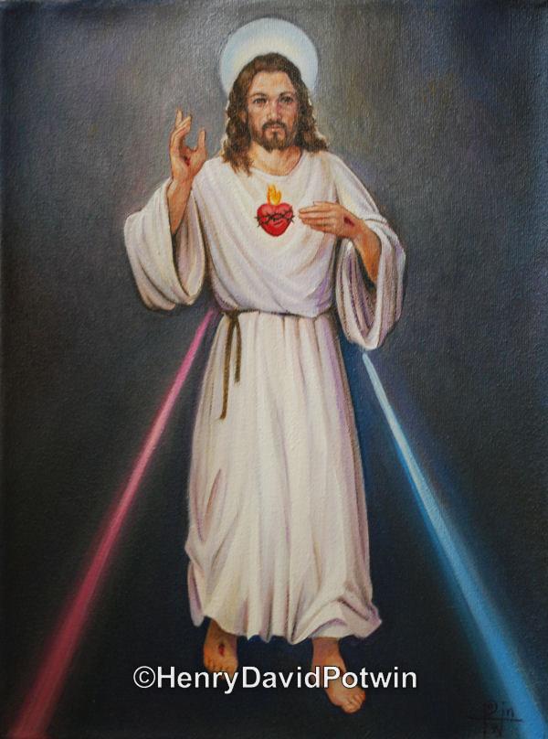 "Sacred Heart  - 2011 11X21"""