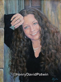 Henry David Potwin Girl Portrait