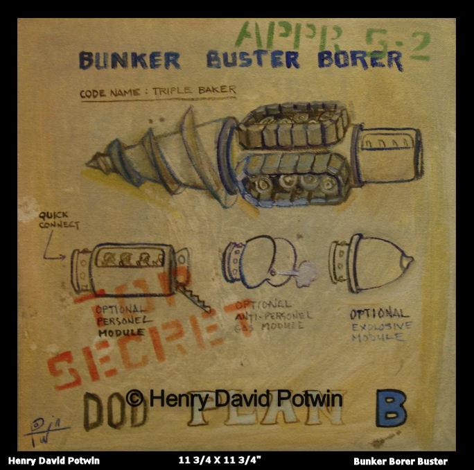 """Bunker Borer Buster - 2007 12X12"""""""