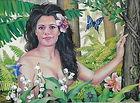 Marissa in the Garden