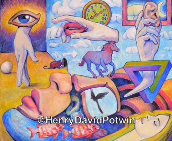 """A Dream - 2015 30X36"""""""