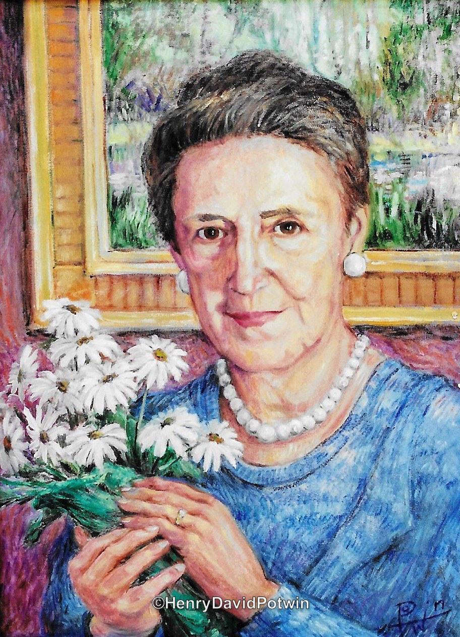 Portrait Mrs Cantu
