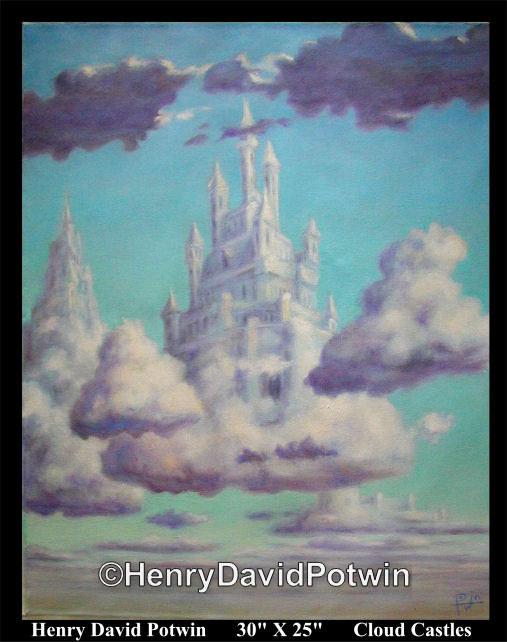 """Cloud Castles  - 2004 30X24"""""""