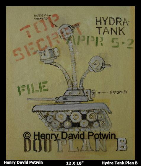 """Hydra Tank - 2007 12X10"""""""