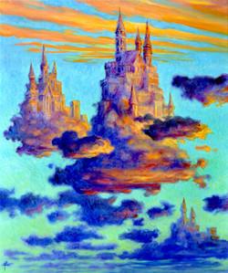 Kingdoms of Clouds 36X30