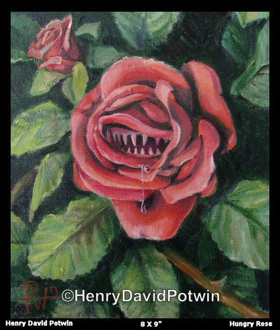 Hungry Rose  - 2006 8X9""