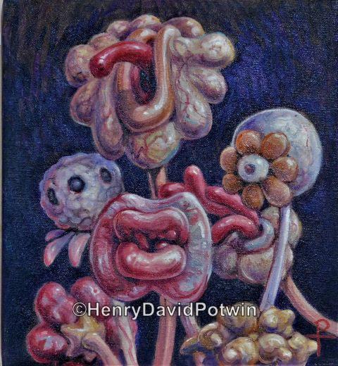 """Meat Flowers 11X10 2010"""""""