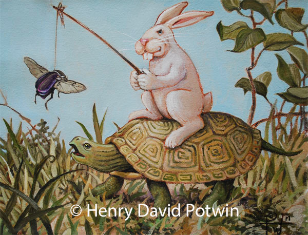 Tortoise and Hare 11X14 2013