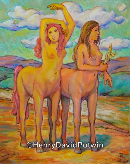 """Centaurs - 2016 20X16"""""""