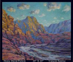 2007 Canyon Sunrise