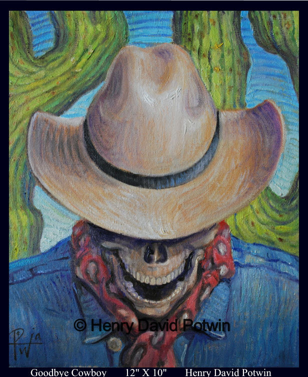 "Goodbye Cowboy Study - 2009 12X10"""