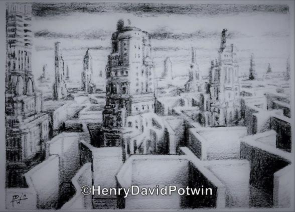 "Development of the Maze - 2003 11X15"""