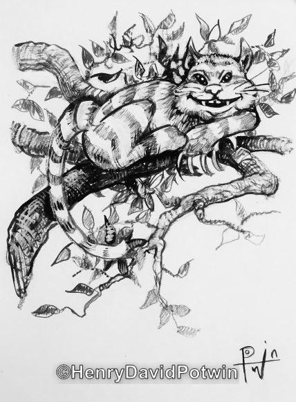 "Untitled (Cat ) -  12X9"""
