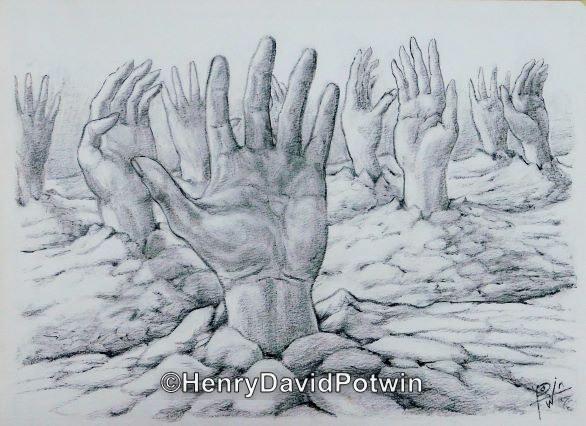 "Field Hands Bw - 2003 11X15"""