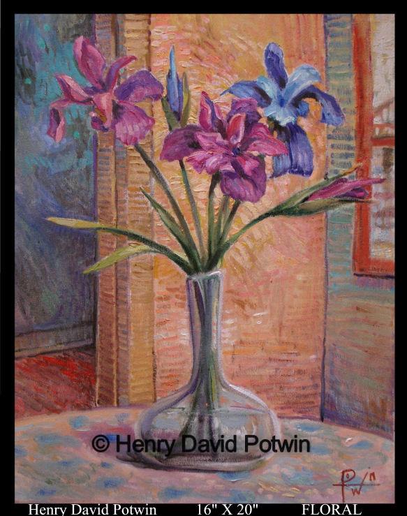 """Floral  - 2007 16X20"""""""