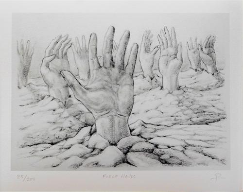 Field Hands 10 X 14