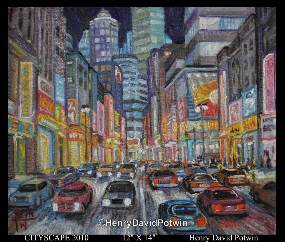 """CityScape 2010  - 2010 12X12"""""""