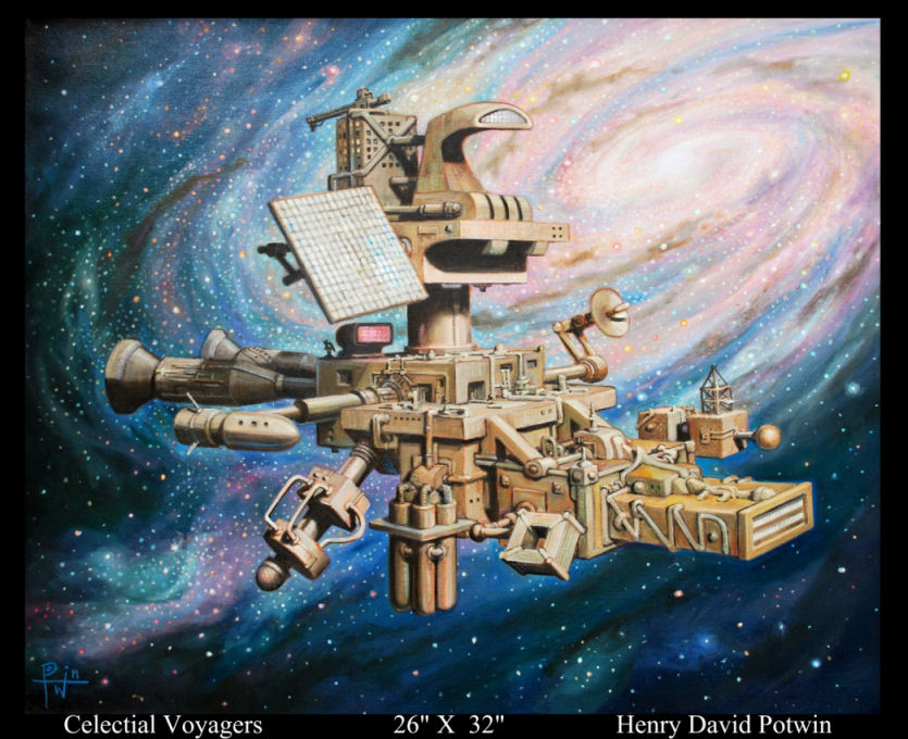 Celestial Voyagers 26X32