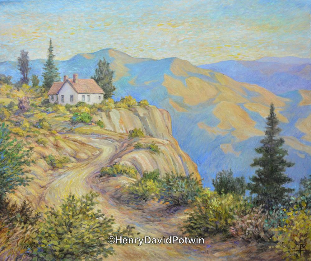 "Mountain Hideaway - 2014 30X36"""