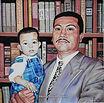 Sr.P holding child
