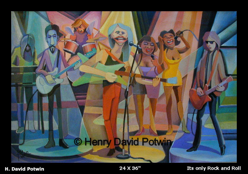 Its Only Rock & Roll  - 1990's 24X36""