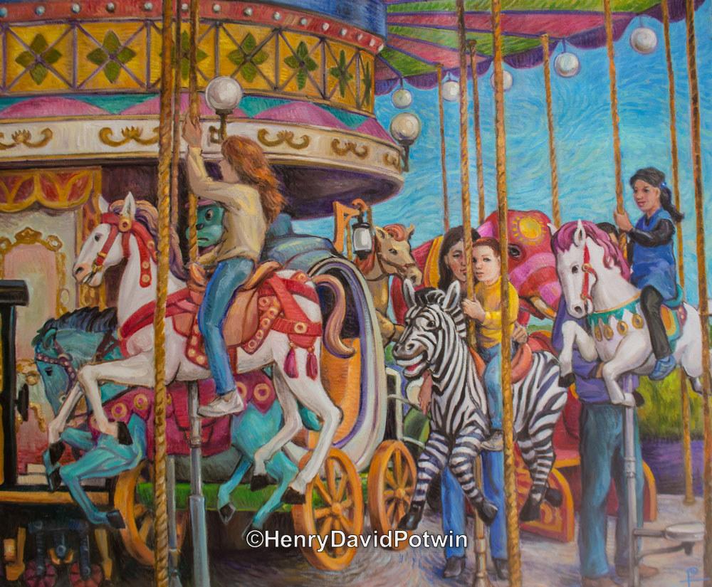 """Carousel - 2014 30X36"""""""
