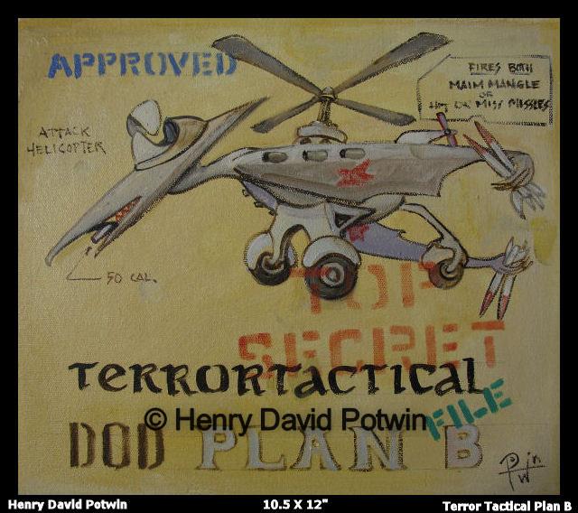"Terrortactical - 2007 11X12"""